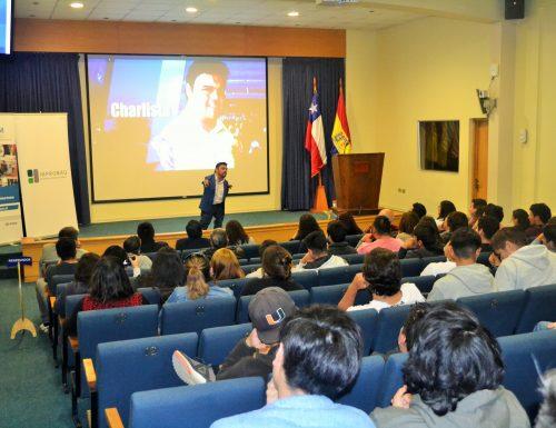 Óscar Álvarez realiza exitosa charla sobre emprendimiento para alumnos de la USM en Viña del Mar
