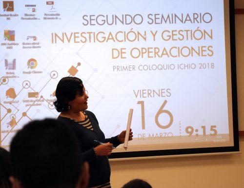 USM realiza el Segundo Seminario de Investigación y Gestión de Operaciones