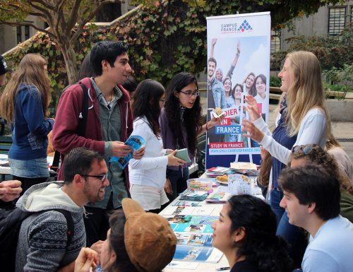 Países de todo el mundo se hacen presentes en la USM para promover la movilidad estudiantil