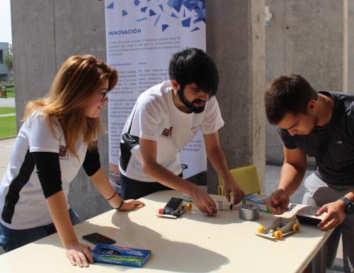 Alta participación en Feria de Iniciativas Estudiantiles USM en San Joaquín