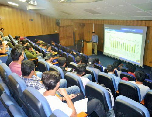 Carrera T. U. en Mecánica Industrial de la USM realiza charla sobre equipos de procesamiento en Minería