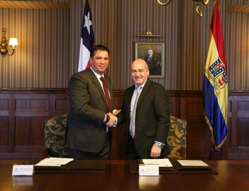 USM firma convenio de cooperación con Seremi de Energía de la Región de Valparaíso