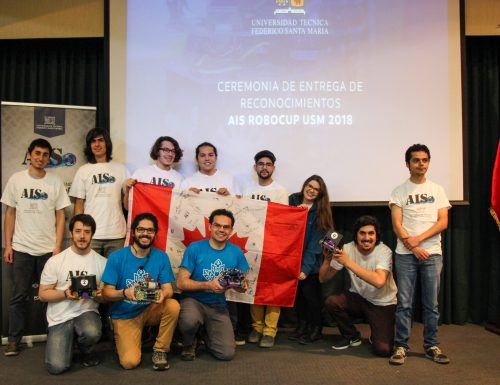 AIS RoboCup USM presenta destacada participación en RoboCup Soccer League 2018
