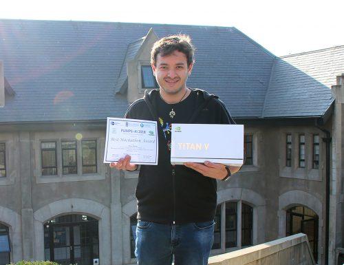 Sansano logra el primer lugar en competitivo Hackathon de escuela de verano en Barcelona
