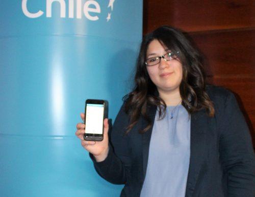 Sansana premiada por el MIT expone en conferencia internacional de Imagen de Chile