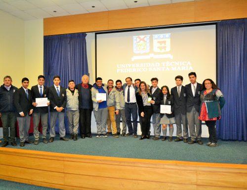 Proyecto sobre energía con bacterias y plantas obtiene primer lugar en la Expotec 2018 de la USM