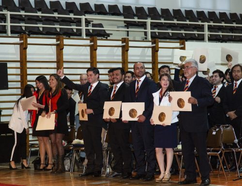 USM tituló a más de 330 nuevos ingenieros vespertinos