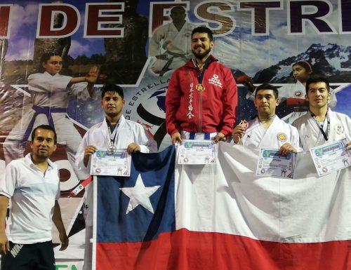 Sansanos obtienen primer y segundo lugar en torneo internacional de Karate