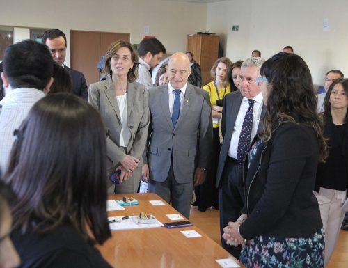Ministra de Educación y Rector USM dieron inicio a rendición de pruebas PSU 2018