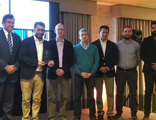 AC3E de la USM gana por tercer año consecutivo el premio Mejor Innovación Tecnológica de la AIE