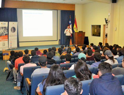 """USM realiza exitoso seminario """"Nuevas perspectivas del mantenimiento industrial"""" en Viña del Mar"""