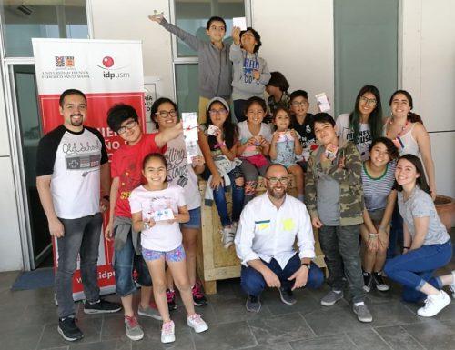 Departamento de Ingeniería en Diseño de la USM realiza exitoso taller para hijos del personal
