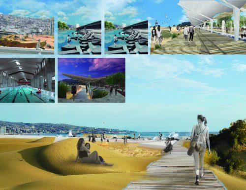 Proyecto USM participó en concurso público para darle una nueva cara al Muelle Barón