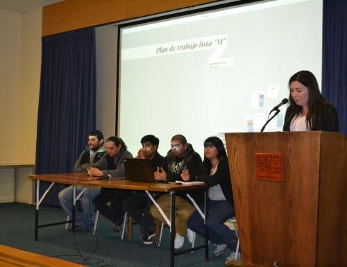Estudiantes de la USM Viña del Mar presentan programa para elecciones de Federación