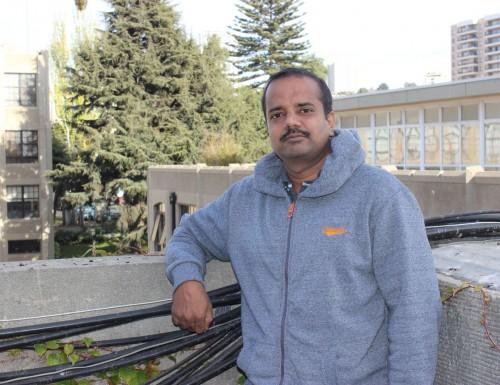 Estudiante de postdoctorado de la India desarrolla investigación en la USM