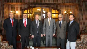 Visita Embajador Siria a la USM