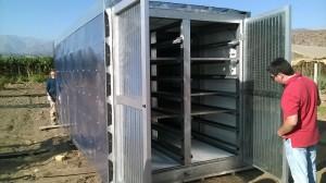 deshidratador  solar USM