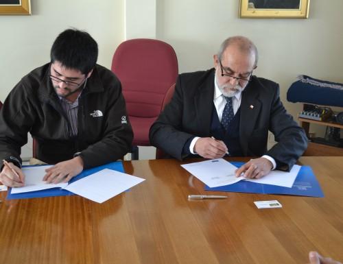 USM Viña del Mar y empresa Liftercap firman convenio de cooperación mutua