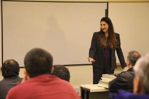 Dra. Lorena Barba en la USM