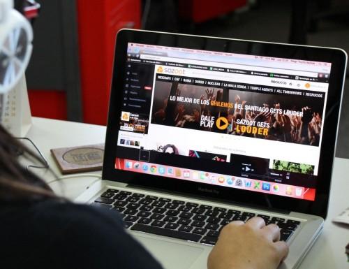 Sazoot, la plataforma de descarga de música chilena que se abre paso en el extranjero