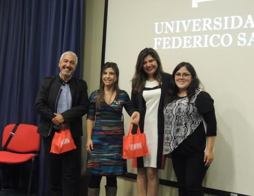 Seminario sobre calidad de vida universitaria se realizó en la USM Viña del Mar