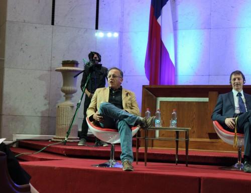 Académico representó a la USM en la V versión del Congreso del Futuro en Valparaíso