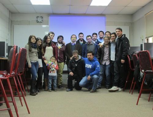Ex Alumnos de la carrera Técnico Universitario en Telecomunicaciones y Redes realizaron su primer encuentro en la USM Sede Viña del Mar