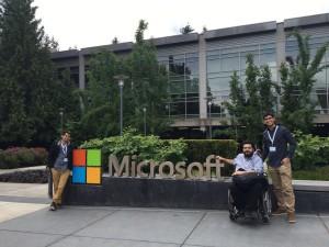 Foto en Microsoft Campus
