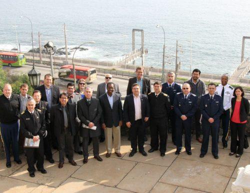 Delegación chileno-estadounidense del área de Defensa visitó los centros basales de la USM