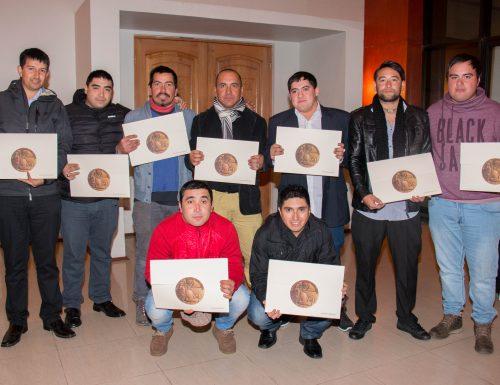 USM Viña del Mar certificó competencias laborales de trabajadores de las VIII y IX regiones