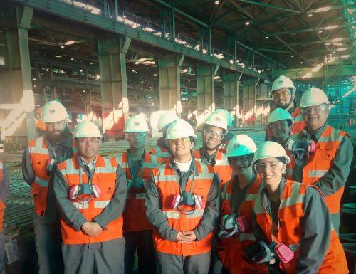 Alumnos de la USM Viña del Mar realizaron visitas industriales en el marco de su formación académica