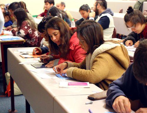 USM acerca el lenguaje usado por no videntes a la comunidad universitaria