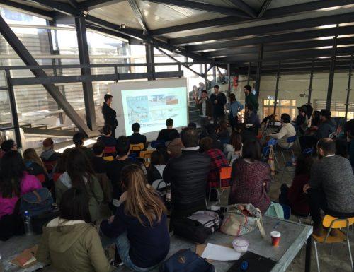 Estudiantes de la USM participaron en importante workshop nacional de Arquitectura