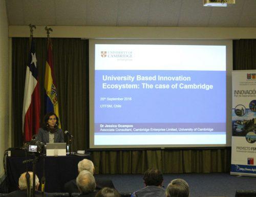 Experta en innovación tecnológica realizó charla en la USM