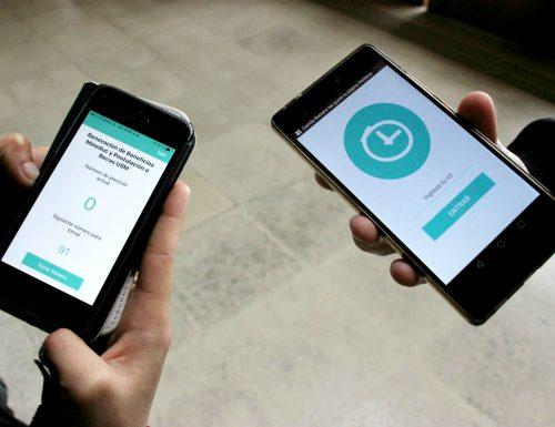 Sansanos crean aplicación que promete eliminar las largas filas de espera en la realización de trámites