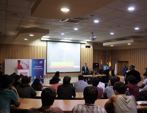 USM celebra convenio con KAEFER Chile