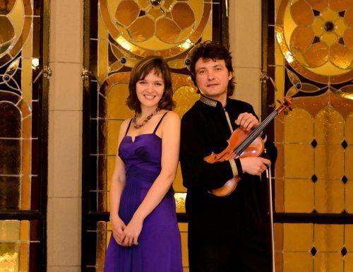 Virtuosos rusos del violín y el piano llegan con todo su talento a la USM