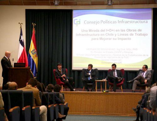 USM realizó seminario sobre investigación, desarrollo e innovación para la infraestructura del país