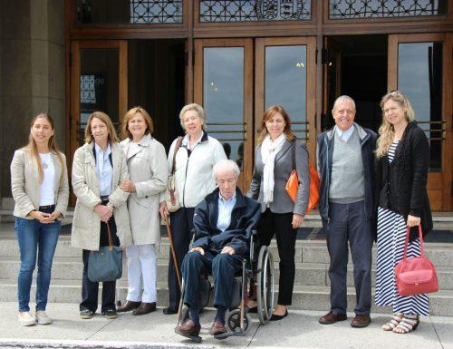 Familia del arquitecto Josué Smith Solar visitó la USM a 85 años de la construcción de su primer Campus