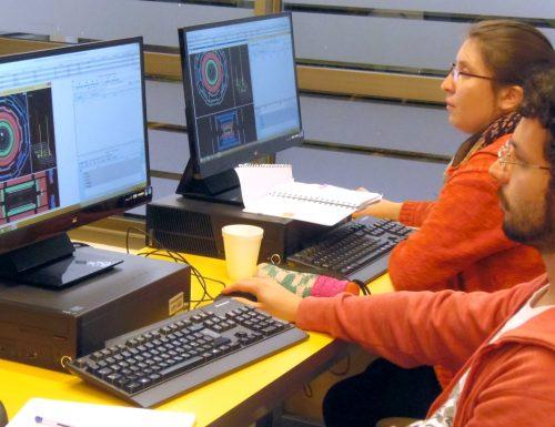 CCTVal de la USM capacita a profesores de enseñanza media en física de partículas