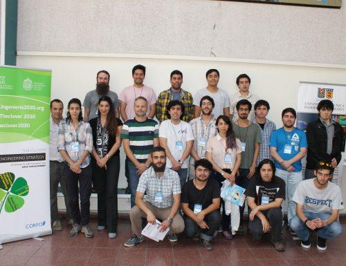 USM imparte exitoso workshop en modelamiento computacional