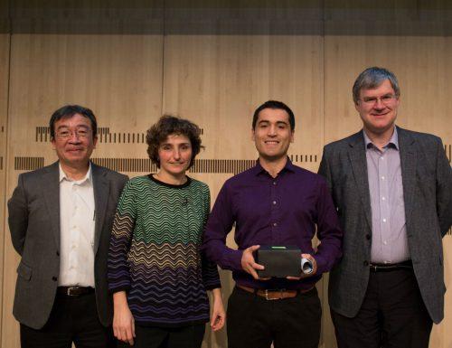 Premian en CERN a exalumno de la USM por importante contribución al experimento ATLAS
