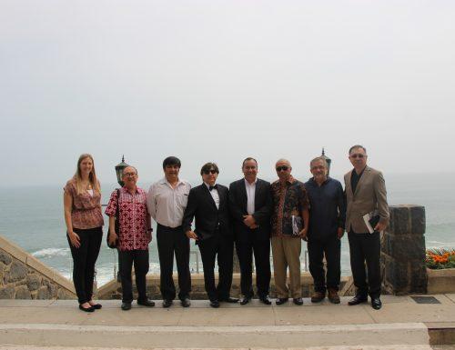 Ministro de Indonesia visita la USM para conocer su prometedora labor en torno a las energías renovables