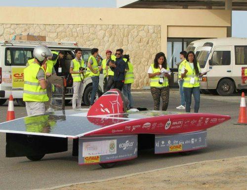 """Alumnas de la USM participan como observadoras internacionales en el """"Somabay Egyptian Solar Challenge 2017"""""""