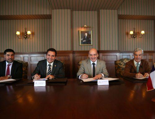 USM firma convenio de colaboración técnica para implementar laboratorio de evaluación de equipos industriales