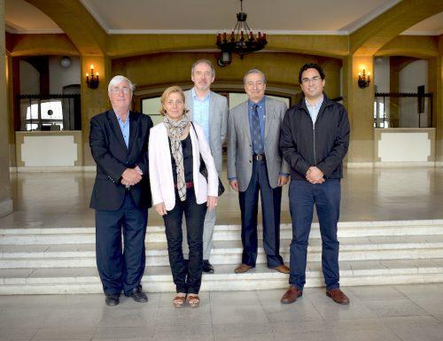 Delegación de planteles franceses visita la USM para fortalecer vínculos académicos