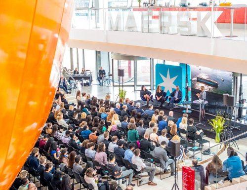 Sansano se reúne con el Príncipe Joaquín de Dinamarca en conferencia de jóvenes talentos