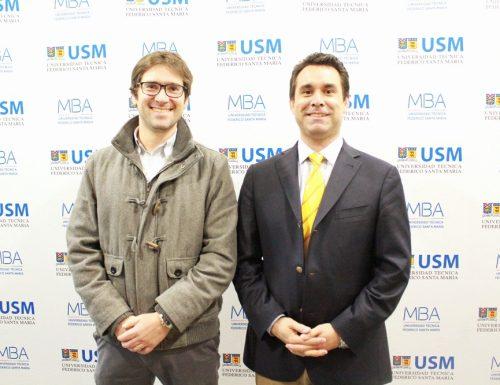 Con charla sobre incubación y aceleración de negocios continúa el Ciclo de Emprendimiento del MBA USM