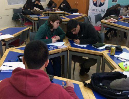 Comienzan Talleres de Preparación Académica para estudiantes del programa PACE USM