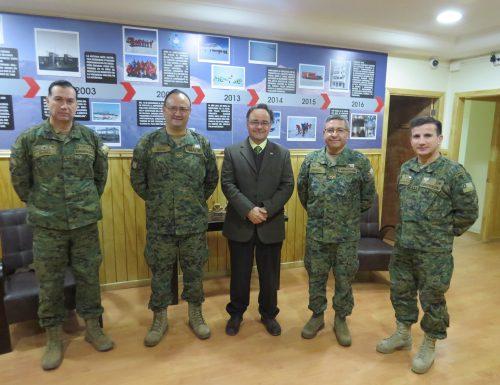 USM y el Ejército de Chile aúnan esfuerzos con miras a investigación científica en la Antártica
